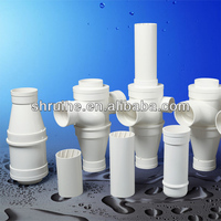 low price rigid Plastic PVC-U pipe fittings for soil and waste discharge