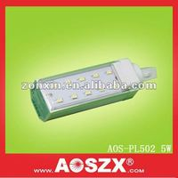 Hot new 5W corn 500lm, new pl, g24 smd 5630 led, replace cfl, pl 5w 6400k lamp