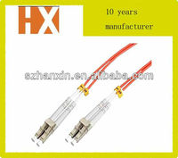 top quality duplex single mode/multimode fiber patchcord LC fiber optic cable accessories