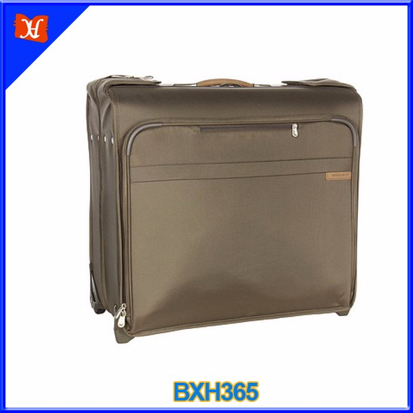 Luxury oversize fashion wheeled rolling garment bags wholesale luggage suit carrier