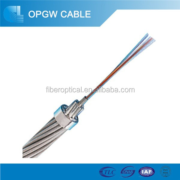 Fiber Cable OPGW G652 G655 Power Optical Cable-Optical Fiber Composite Ground Wire