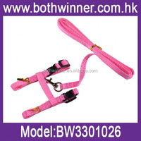 Pet collar and leash ,H0T355 pet products easy walking pet harness , led retractable pet leash