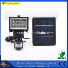 High power solar led flood light with pir motion sensor, solar motion sensing light