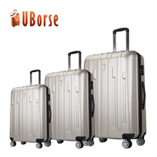 ABS trolley luggage colorful abs travel bag small cabin suitcase