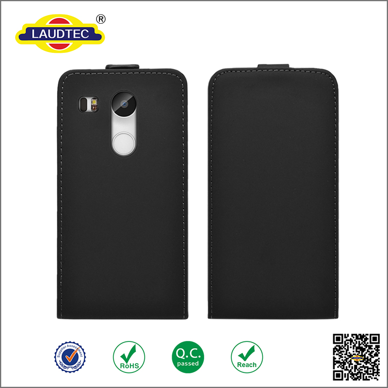 New flip leather case for LG nexus 5x