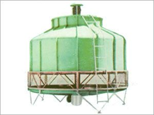 FRP_induced Bottle type cooling tower