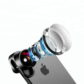 2018 New products mobile accessories cell phone camera external lens kit for iphone phone lens