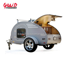 Tiny Mini Off Road Teardrop Travel Camper Trailer Caravan