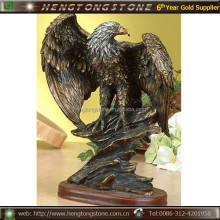 Antique Life Size Bronze Eagles
