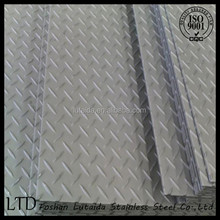 High quality stainless steel checkered plate