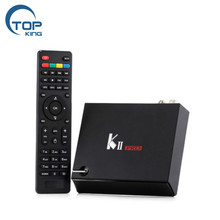 Full factory support 4k satellite receiver k11 pro 4k satellite receiver kii pro dvb s2 t2