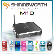 cheapest MXQ M10 smart tv box amlogic s812 android 5.1 quad core android smart tv box