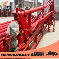 constriuction building equipments china supplier portable Concrete Pump Placing Boom