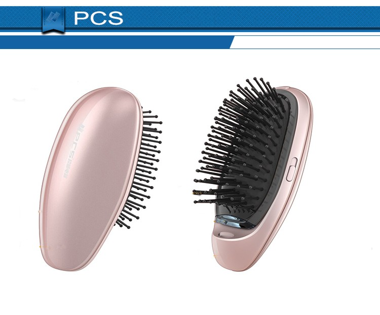 Newest 2016 Every Lady Ion Scalp Massager Hair Comb