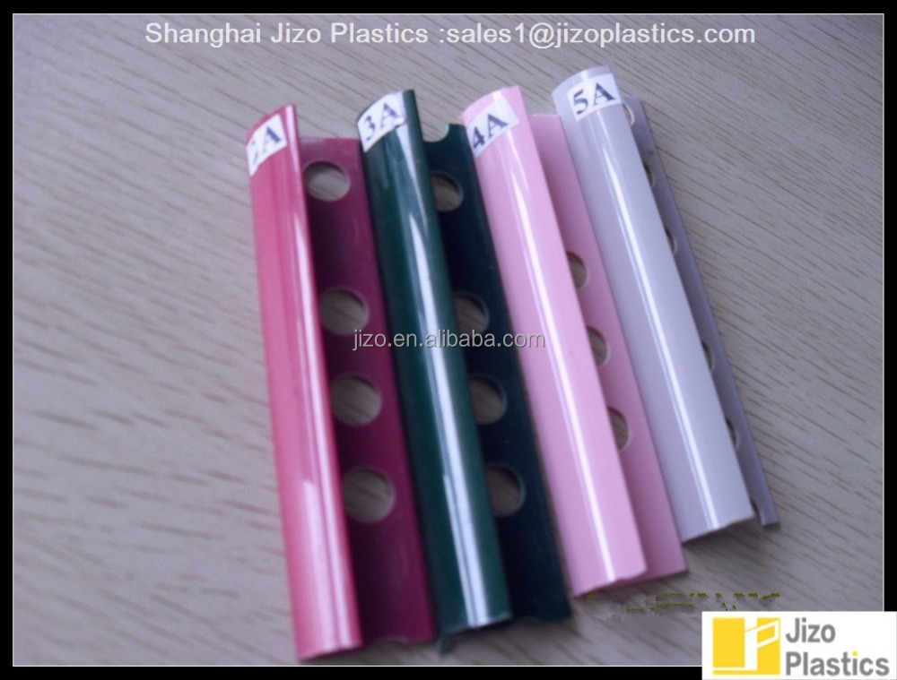 Factory price Top quality PVC tile edging trim, pvc corner tile edging trim