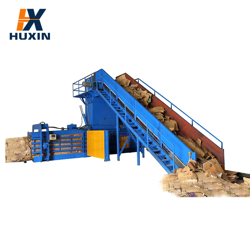 Factory direct sale recycling baler for paper / waste plastic recycling baler