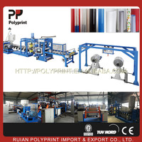 Good plasticizing plastic sheet extruder extrusion line