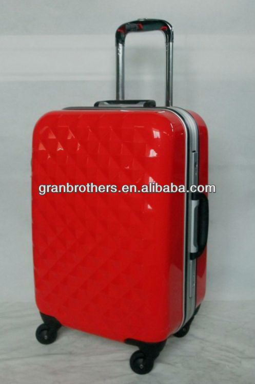 Aluminum Frame Trolley Luggage Cases