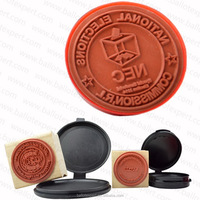 SE-SCS001 Custom Made various Styles Initial Name Date Logo Wedding Invitation Wax Seal Stamp