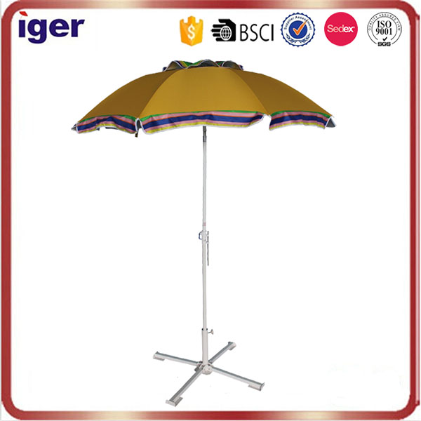 210D oxford sun protection2.2m*8k 3.5mm ribs air vented waterproof UV30+ parasol classical beach umbrella for outdoor activities