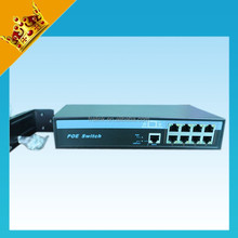 8 Portas 100 Mbps Switch PoE