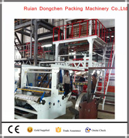 Rotary die head LD/HD PE film blowing machine