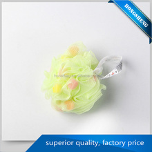 Fast Delivery Mesh bath exfoliating Sponge ball shower puff