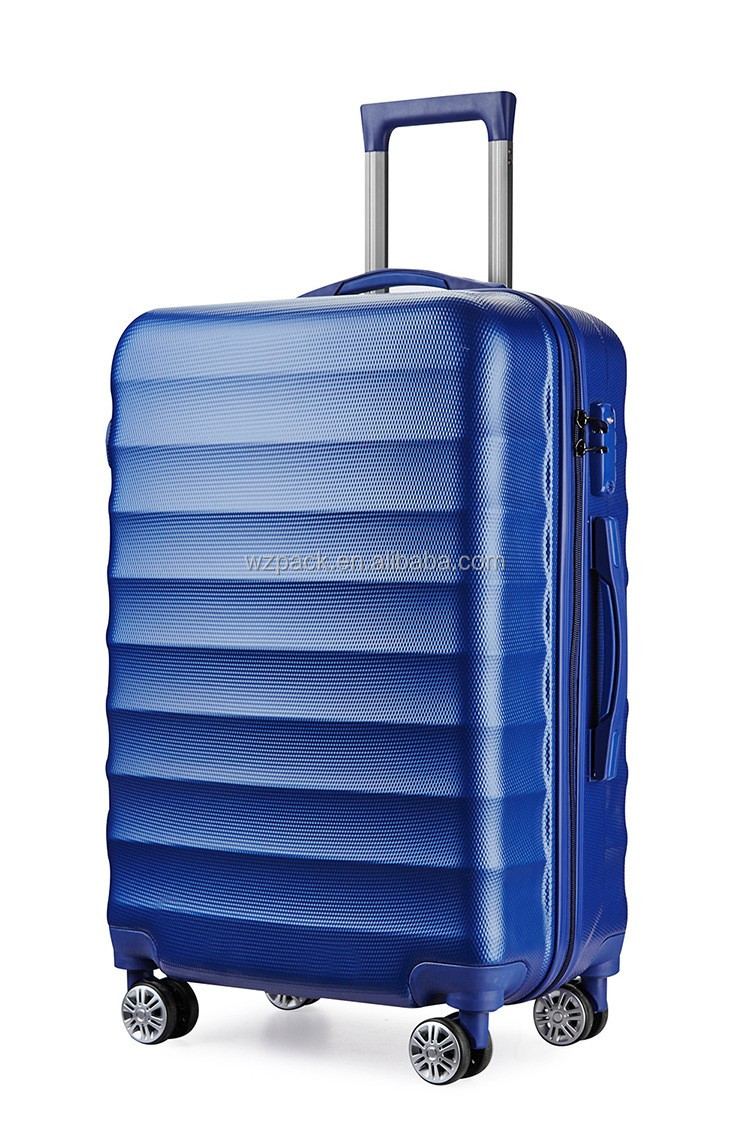 "Hard Shell ABS Trolley Case 4 Spinner Wheels Suitcase Luggage Holiday Travel Bag PC luggage 20'' 24'' 28"" set trolley case"