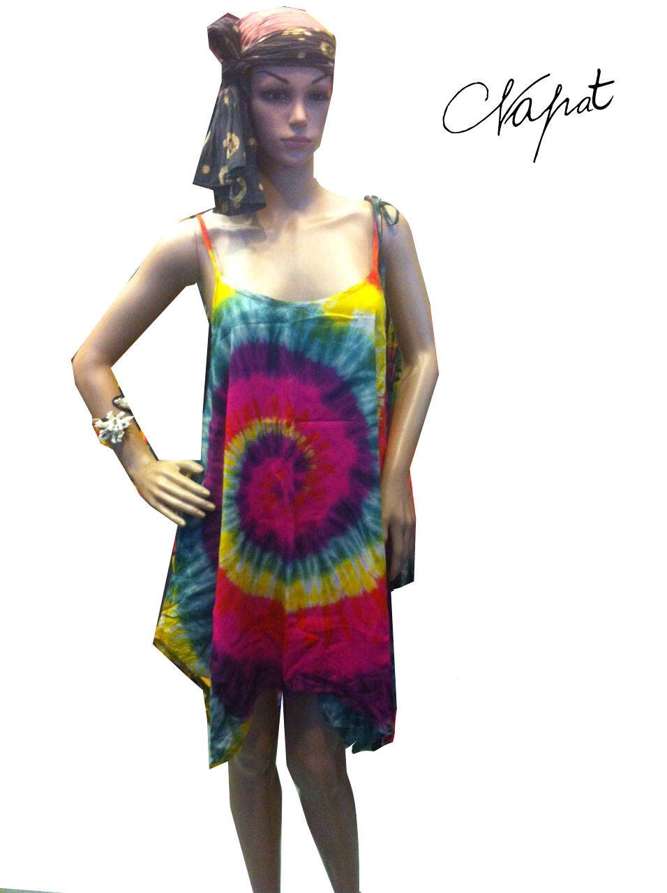 Wholesale sexy cheap colorful spagetti shirt and tie dye color combinations