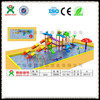 Guangzhou water slide manufacturer/children sliding board/kids fiberglass sliding board (QX-SJ04)