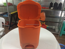 Making custom plastic mini trash can mold