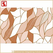 China New 250X330Mm Inside Acrylic Feature Wall Tile With Leaf Mosaic