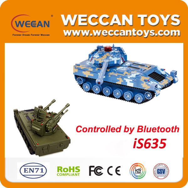 iOS and Android control Bluetooth hoppies TANK model kits tiny model kit plastic model kits