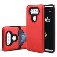 Slide cover cell phone case Armor shockproof case cover for lg v20 New product 2in1