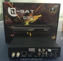 2015 hot product Q-SAT Q26G,Q-SAT Q26,QSAT Q26G mpeg4 full hd gprs decoder for Africa better than Q23G,Q13G