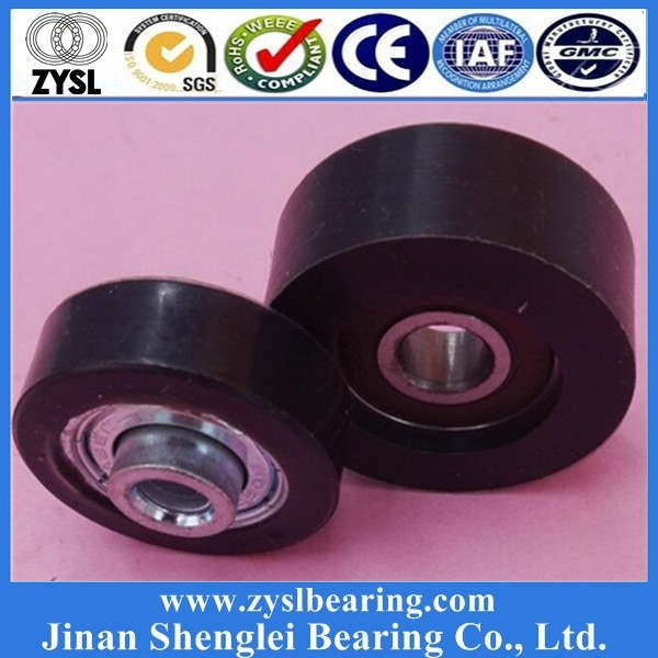 High Precise 608zz rubber roller skate wheel long board skateboard bearing made in china