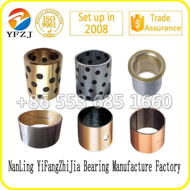 manufacture sliding bearing bushing used auto spare parts