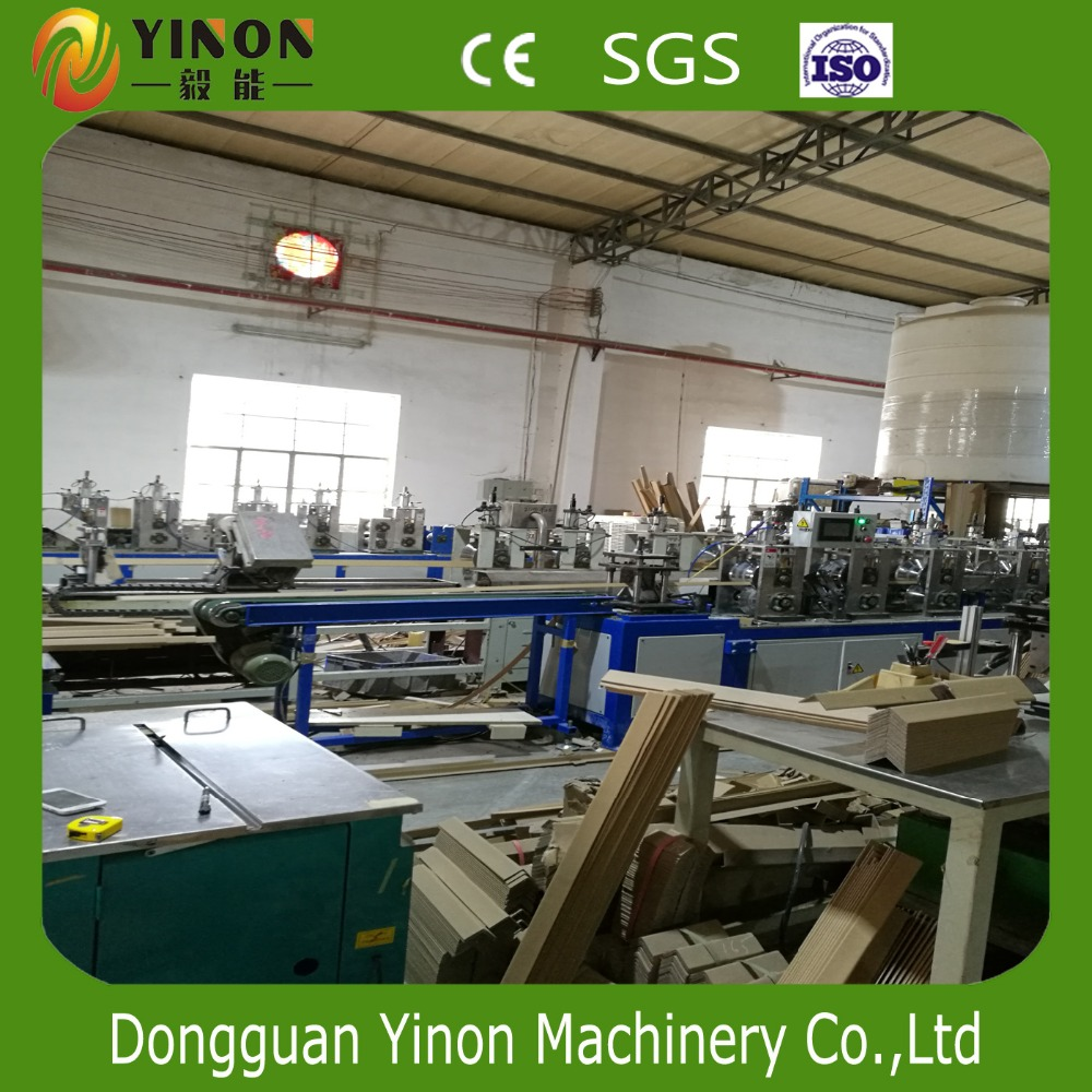 Automatic Carton Corner Edge Production Machine Paper Edge Protector Production Line