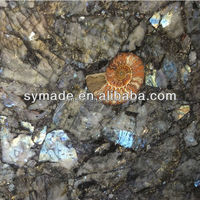 Natural gemstone polished labradorite granite paving portugal from china for furniture decoration