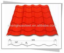 Top supplier of cheap color roof sheet metal tile factory on sale