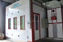 BTD 9900 Hot sale camera portable spray booth used car painting room for sale