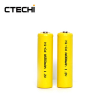 1.2v AA300mAh NICD Rechargeble Battery pack