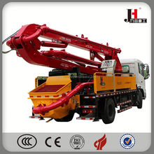 China best price small concrete pump truck 25m ISUZU pump truck
