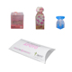 Custom PVC PP PET clear printed wedding large packaging pillow boxes wholesale