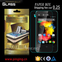 Wholesale 9H 2.5D round edge 0.33mm tempered glass screen protector for BQ Aquaris X5