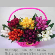Flower arrangement, Artificial tulip for wedding table centerpieces