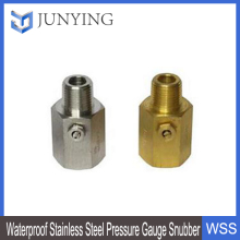 Waterproof Stainless Steel Pressure Gauge Snubber