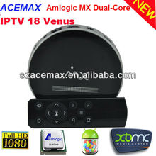 Android mx internet tv with remote 3D dual core