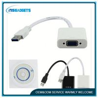 usb 3.1 type-c to vga adapter cable ,HOT-285, usb to vga multi monitor external video adapter