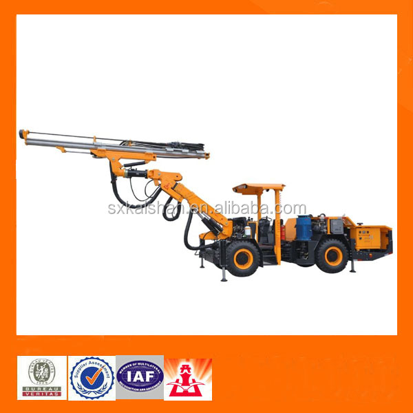 All hydraulic Mineral Exploration underground Crawler mobile drilling rig